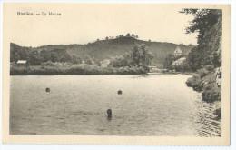 Cpa Bon Etat ,  Belgique , Hastière , La Meuse , Tres Propre - Hastière
