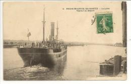 44 - ROCHE-MAURICE -lès-NANTES - La Loire - Vapeur Au Départ - Coll. F. Chapeau N° 14 - 1914 - France