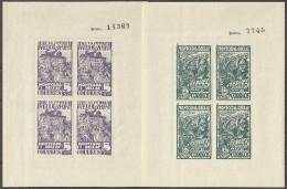 ESPAÑA - GUERRA CIVIL 1936/39 (MONTCADA I REIXAC) - MNH ** - Viñetas De La Guerra Civil