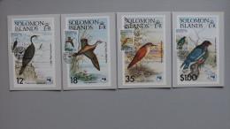 Solomoninseln 540/3 Maximumkarte MK/MC, ESST, Int. Vögel, Briefmarkenausstellung AUSIPEX '84, Melbourne - Salomon (Iles 1978-...)