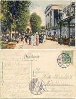 AK Bad Eilsen Bei Bückeburg Litho. 1905, Kursaal, Cafegarten, Kurgäste - Schaumburg