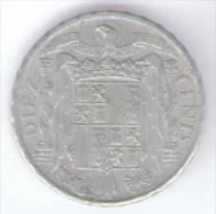 SPAGNA 10 CENTS 1953 - [ 5] 1949-… : Regno