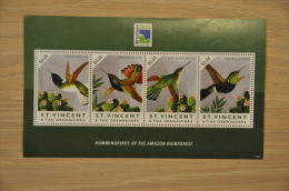 M1 - 94 + GRENADINES OF ST VINCENT 2013 BIRDS OISEAUX VOGELS KOLIBRI HUMMINGBIRD MNH NEUF ** - St.Vincent (1979-...)
