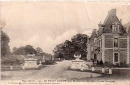 Cpa 1916 (deux Sèvres)  LE PETIT CHENE Près De MAZIERES EN GATINE, Entrée Principale   (30.65) - Mazieres En Gatine