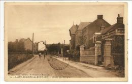 44 - SAINT-ETIENNE-de-MONT-LUC - Route Du Temple - Ed. Colas, Tabacs à St-Etienne-de-Mont-Luc N° 8 - 1932 - Saint Etienne De Montluc