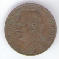ITALIA 2 CENT 1916 VITTORIO EMANUELE II - 1861-1946 : Regno