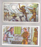 B915 - 2 IMAGES CHOCOLAT SENEZ STURBELLE - COW BOYS - Unclassified