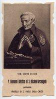 Santino NUOVO Fustellato P. G. BATTISTA DI S. MICHELE ARCANGELO  - Ristampa Tipografica Da Santino Antico - PERFETTO G1 - Religione & Esoterismo