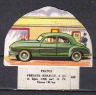 N545 - IMAGE DECOUPAGE VACHE SERIEUSE - RENAULT FREGATE - Cars