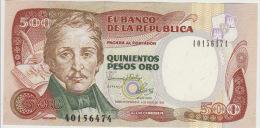 Colombia 500 Peso 1993 Pick 431A UNC - Colombia