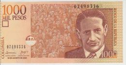 Colombia 1000 Peso 2009 Pick 456b UNC - Colombia