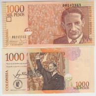 Colombia 1000 Peso 2011 Pick 456 UNC - Colombie