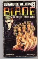 JEFFREY LORD BLADE N° 63 La Cité Ds Femmes Clones - Vaugirard