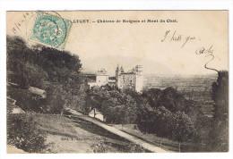 LUCEY  CHATEAU DE BOIGNES ET MONT DU CHAT - France