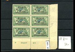 DR, Xx, Memelgebiet, 88 BrU - Occupation 1914-18