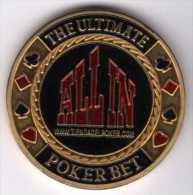 The Ultimate Poker Bet : ALL IN Www.tiendadelpoker.com : Poker Card-Guard : Las Vegas - Casino