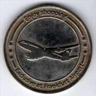 Médaille De Bon De Réduction à La Boutique Dutyfree : Aéroport De Francfort 31.12.2012 - Professionnels/De Société