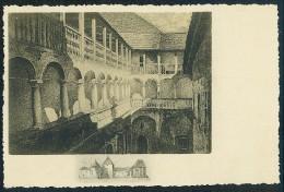 Varazdin. Mrzljak: Dvoriste U Starom Gradu. Cour De L' Ancien Chateau-fort Schlosshof ---- Postcard Traveled - Croatia