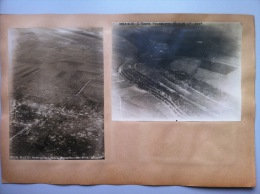 Seconde Bataille De La Somme : Quatre Photographies Aériennes De Braches Et Aubvillers Les 23 Avril Et 21 Juillet 1918 - 1914-18