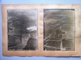 Seconde Bataille De La Somme : 4 Vues Aériennes De Secteurs De Combat De Juillet 1918 Autour De Rouvrel - 1914-18