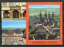 Naumburg (Saale)/ Mehrbildkarte - N. Gel. - DDR - Bild Und Heimat  A1/502/84 01 08 0144/12 - Naumburg (Saale)