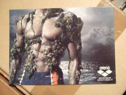 Arena Water Instinct Sexy Body Male Also Gay Interest Carte Postale - Advertising