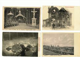 ZONNEBEKE HOUTHULST PILKEM BOEZINGE  IEPER Feldpost WW1 - Zonnebeke