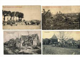 ZONNEBEKE LANGEMARK POELKAPELLE  IEPER Feldpost WW1 - Zonnebeke