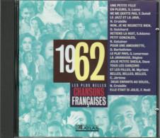CD 1962 LES PLUS BELLES CHANSONS FRANCAISES 14 Titres - Hit-Compilations