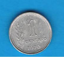 ARGENTINA - 1 Centavo 1970  KM64 - Argentine