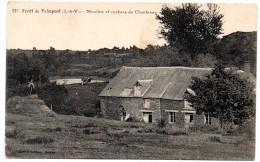 CP, 35, PAIMPONT, Forêt, Moulins Et Rochers De Chantenay, Vierge - Paimpont