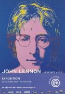 Cp , SPECTACLE , John Lennon , Exposition , Cité De La Musique - Artistes