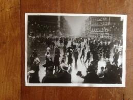 Photographie De Presse Original Agence Fulgur Manifestations Du Parti Rex A Bruxelles - Places