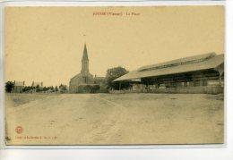 86 JOUSSE PLace Du Village Belle Halle 1910   / D2 - 2013 - Frankrijk