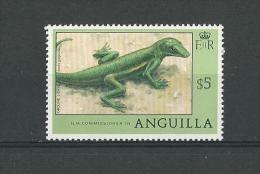 Anguilla: 277 **  Lézard - Non Classificati