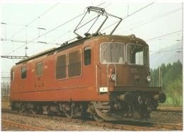 TRAIN Suisse - EISENBAHN Schweiz - BERNE - Bern Lötschberg Simplon Bahn - BLS Lokomotive Re 4/4 165 - Trains