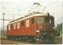 TRAIN Suisse - EISENBAHN Schweiz - BERNE - Bern Lötschberg Simplon Bahn - BLS Lokomotive Ae 4/4 257 - Trains