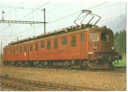 TRAIN Suisse - EISENBAHN Schweiz - BERNE - Bern Lötschberg Simplon Bahn - BLS Lokomotive Ae 8/8 272 - Trains