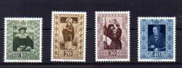 Tableaux De La Galerie De La Principauté, 273 /  276**, Cote 125 €, - Liechtenstein