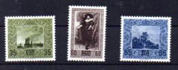 Tableaux De La Galerie De La Principauté, 288 / 290**, Cote 40 €, - Liechtenstein