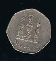 EMIRATOS ARABES UNIDOS - 50 Fils 1998   KM16 - Emiratos Arabes