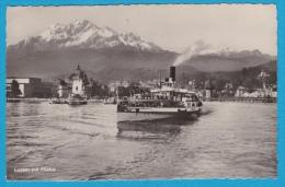 Luzern - Dampfschiff Am Vierwaldstättersee - Altri