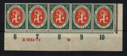 D.R.109,DZ W + HAN,xx,gefaltet (4970) - Germany