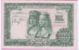 ESPAGNE - 1.000 Pesetas Du 29 11 1957 - Pick 149  SUPERBE - [ 3] 1936-1975 : Régence De Franco