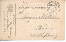 """Guerre 1914/18 Armée Austro-hongroise """"K.U.K.4.armee-kommando 2/99 Stabskompagnie B.d. """"K.U.K.feldpostamt 340"""" - Covers & Documents"""