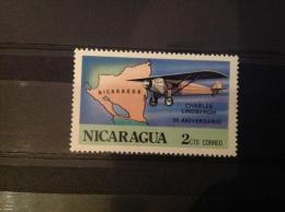 Nicaragua - Postfris / MNH 50 Jaar Transatlantische Vlucht (2) 1977 - Nicaragua