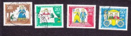 Germany, Scott #B418-B421, Used, The Princess And The Frog, Issued 1966 - BRD
