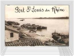 PHOTO PORT SAINT LOUIS DU RHONE /  / BATEAUX - Saint-Louis-du-Rhône