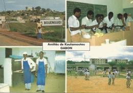 Koulamoutou (Gabon) - Lycée Et Quartier Administratif, Multivues - Gabon