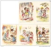 5 IMAGES GERMAINE BOURRET - Bouret, Germaine